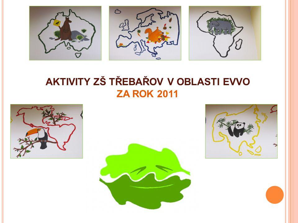 """ČERVEN Žáci šesté a sedmé třídy se zúčastnili osvětové ekologické akce """"Zahoď mobil v Pardubicích, kterou pořádala společnost Asekol."""