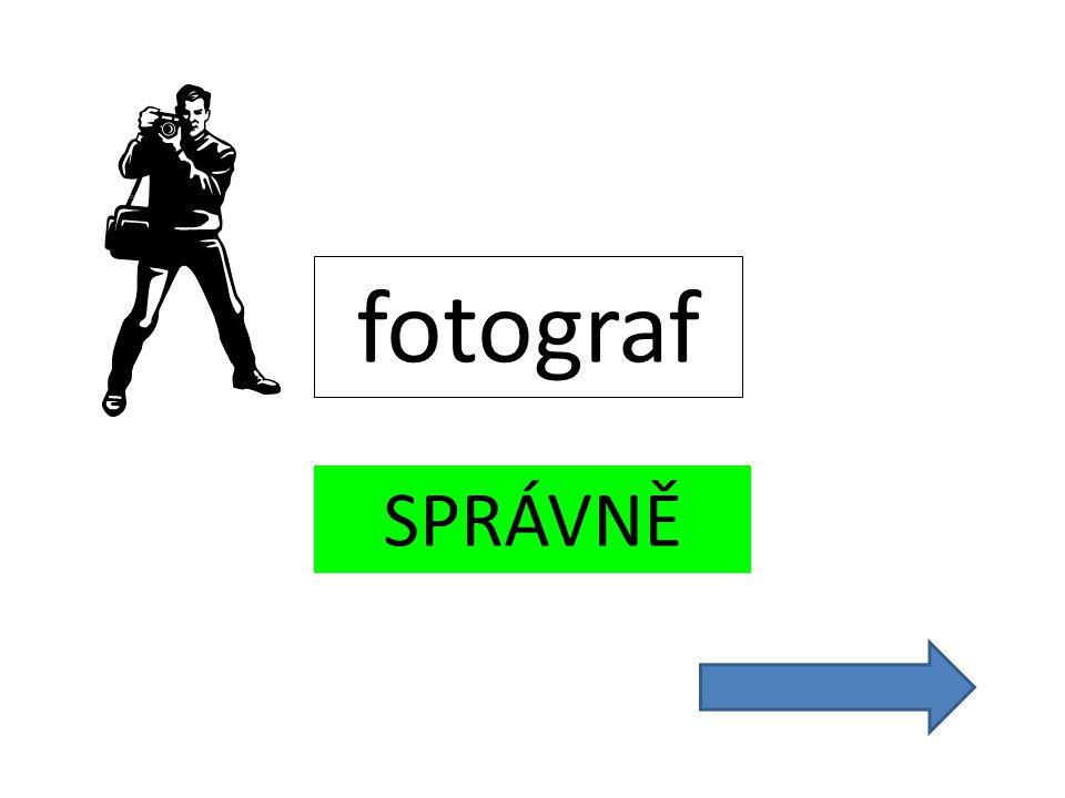 SPRÁVNĚ fotograf