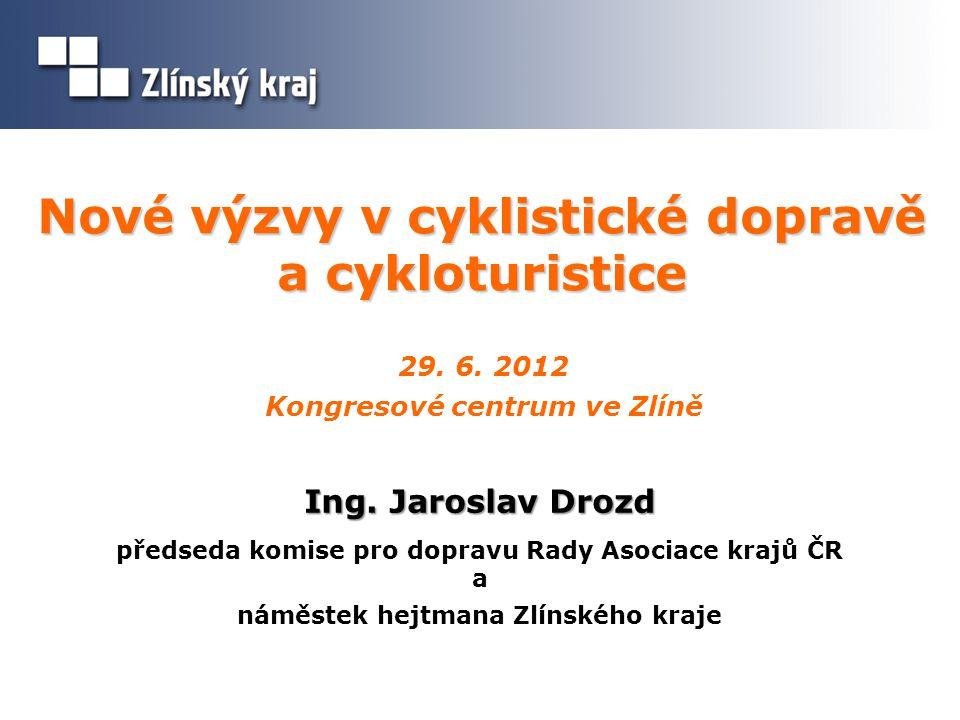 Koncepce rozvoje cyklodopravy ZK 2 vychází z Národní strategie rozvoje cyklistické dopravy ČR  Generel dopravy Zlínského kraje (první zpracování 2004 - v letech 2009 – 2011 byla zpracována a 14.