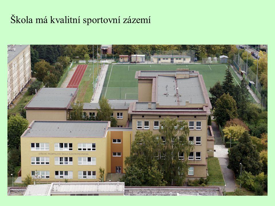 Škola má kvalitní sportovní zázemí