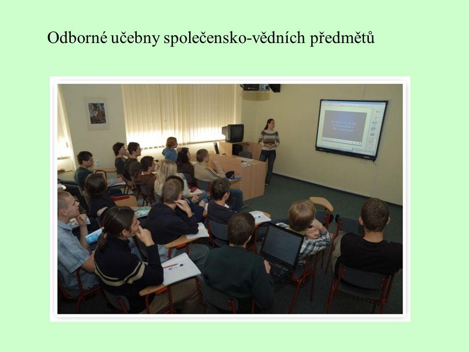Odborné učebny společensko-vědních předmětů