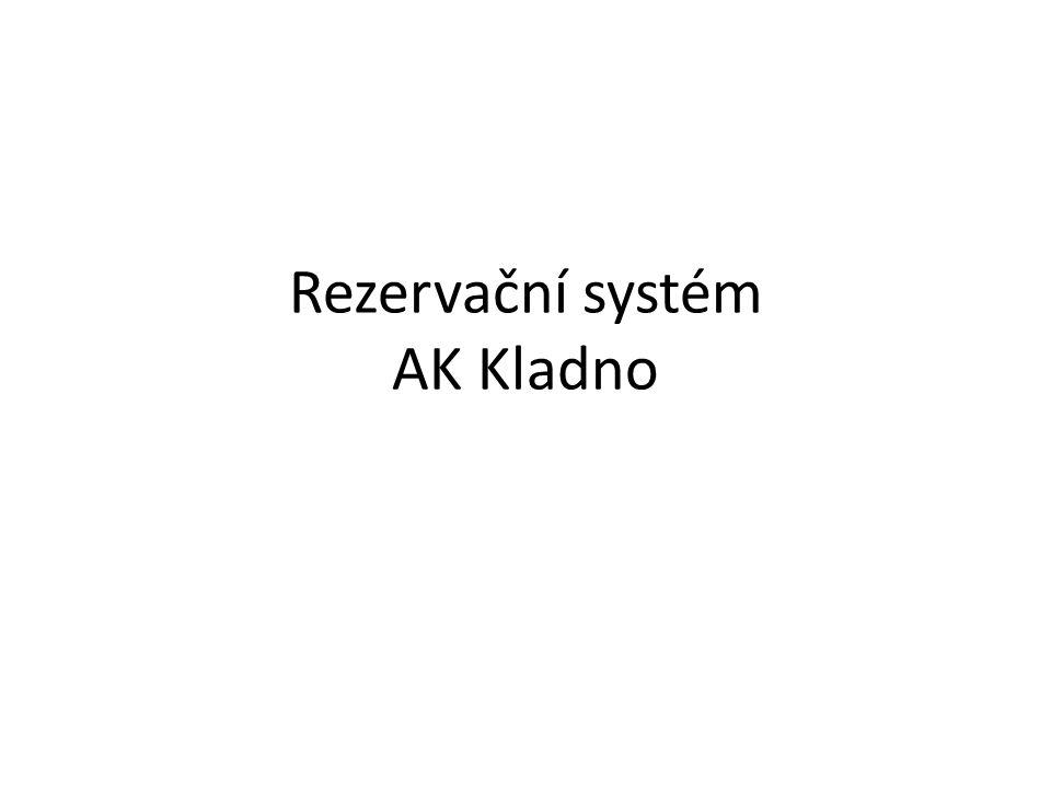 """Jak systém pracuje • Systém pracuje na skriptu MRBS (Meeting Room Booking System) • Je to rezervační systém, který je šířen """"open GL licencí, čili je zadarmo a je upraven pro potřeby AK Kladno • Systém pracuje na PHP skriptu a databáze je na MySQL AK Kladno."""