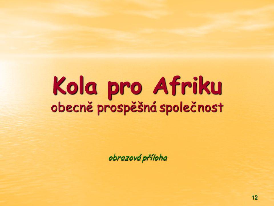 12 Kola pro Afriku obecně prospěšná společnost obrazová příloha