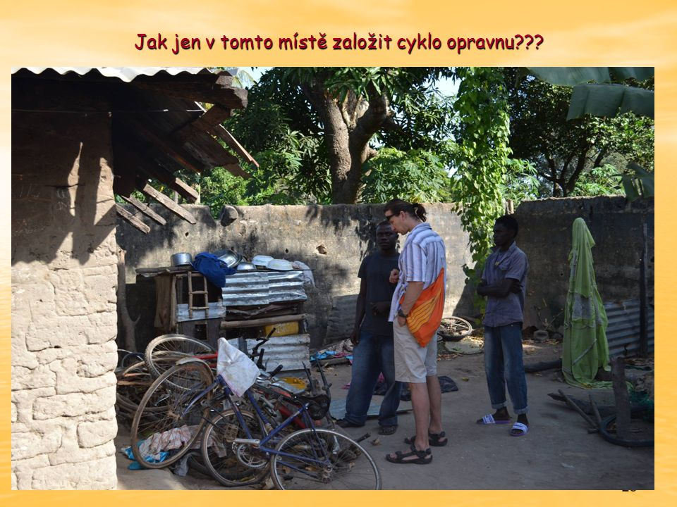 23 Jak jen v tomto místě založit cyklo opravnu???