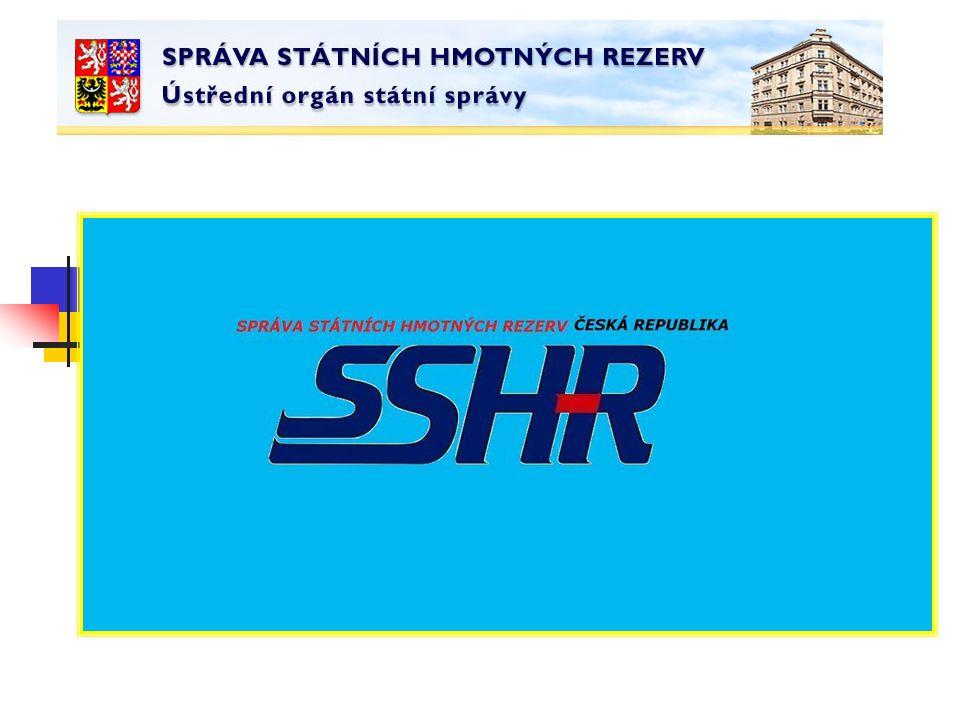 12 Pouze pokud ani věcně příslušné ministerstvo není prokazatelně Schopno zajistit nezbytné dodávky, o jejichž zajištění požádaly krajské úřady, příslušné jiné správní úřady a nebo je požaduje samotné ministerstvo, může požádat SSHR o vytvoření pohotovostních zásob.