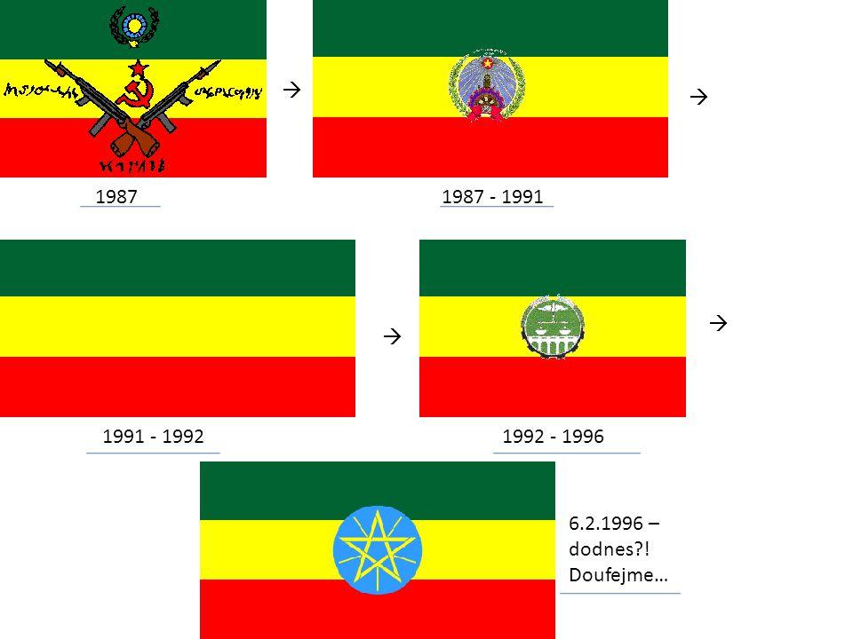 1987  1987 - 1991  1991 - 1992  1992 - 1996  6.2.1996 – dodnes?! Doufejme…
