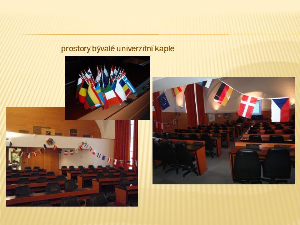 prostory bývalé univerzitní kaple