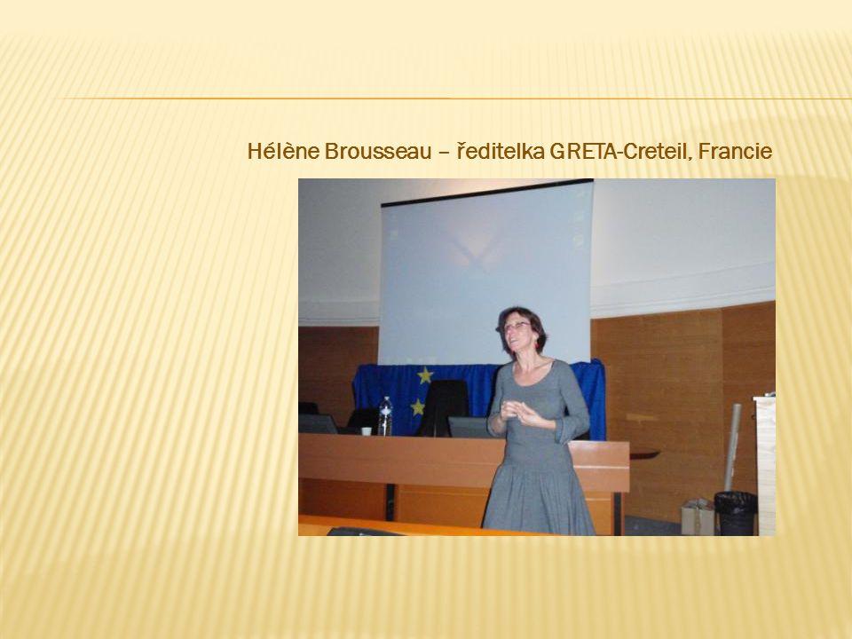Hélène Brousseau – ředitelka GRETA-Creteil, Francie