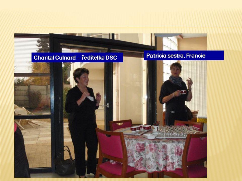 Chantal Culnard – ředitelka DSC Patricia-sestra, Francie