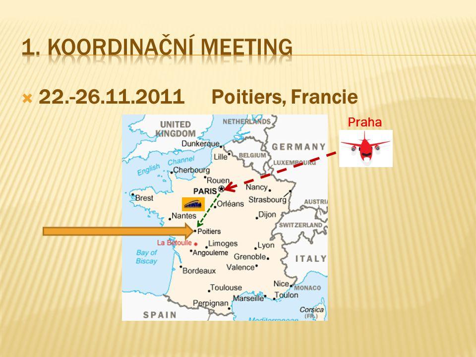  22.-26.11.2011Poitiers, Francie Praha