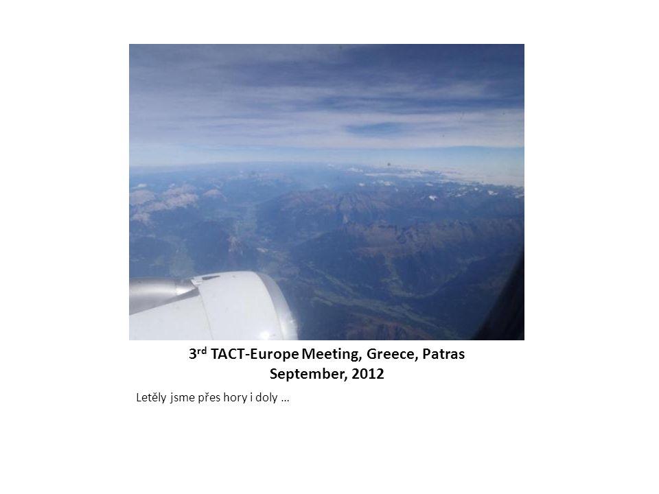 Letěly jsme přes hory i doly …