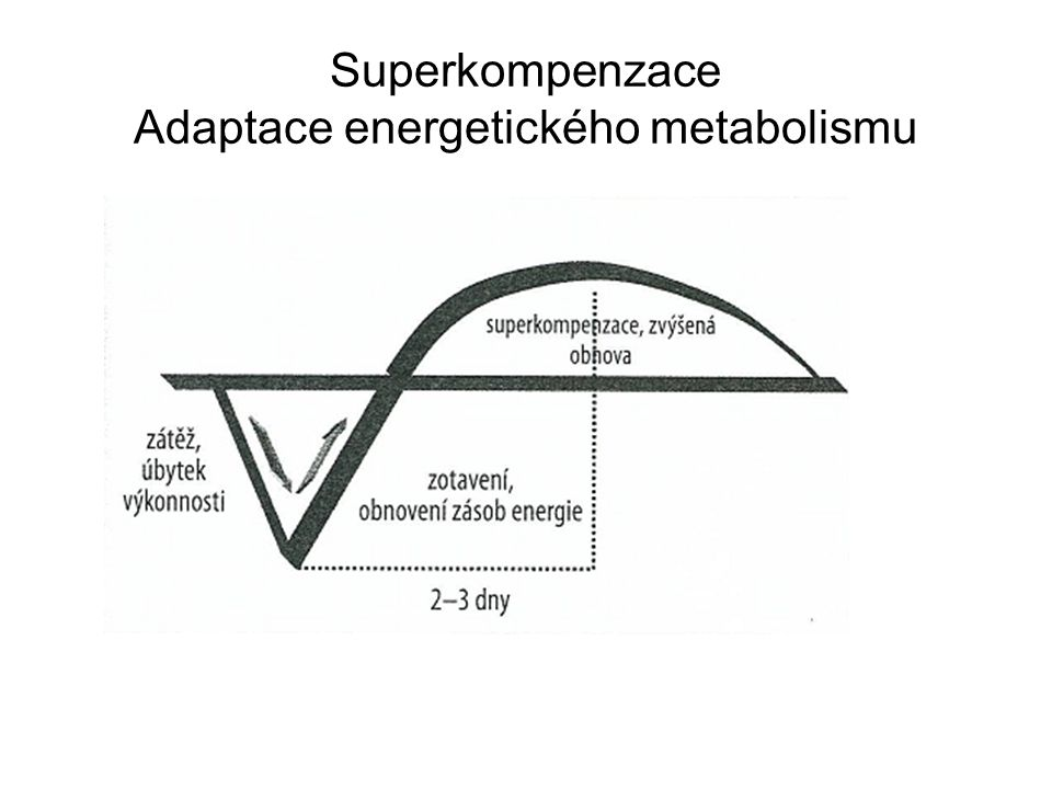 Funkce zatížení, zatěžování: •Rozvoj - cíl: progresivní zlepšení sportovního výkonu nebo jeho dílčích faktorů až do případného (relativního) maxima (uplatnění především v přípravném období) •Renovace - cíl: obnovit trénovanost a výkonnost (po zranění, nemoci, přetížení…) •Stabilizace - cíl: udržení dosaženého stupně trénovanosti a výkonnosti •Regenerace - cíl: aktivní odpočinek tj.
