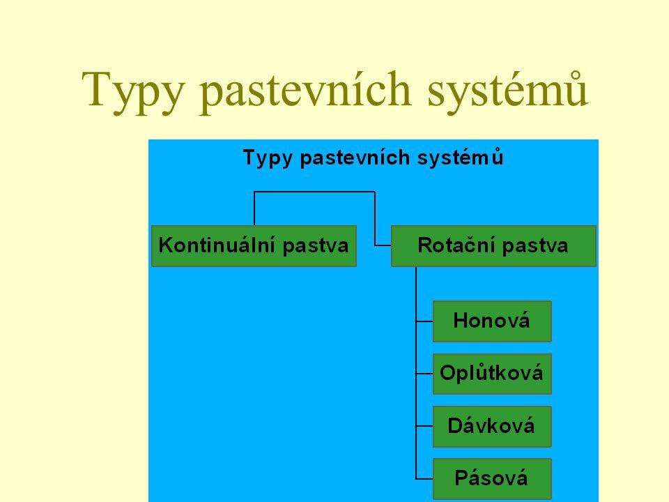Typy pastevních systémů