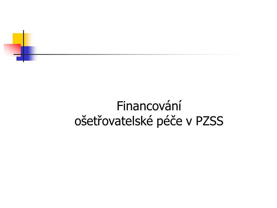 Financování ošetřovatelské péče v PZSS