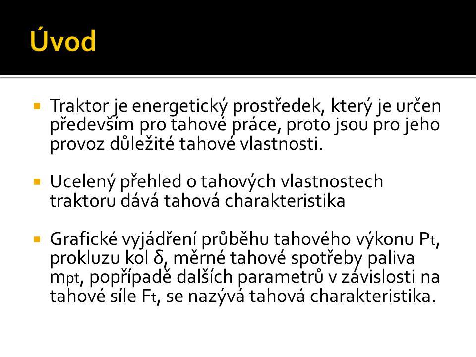  Zkoušky tahových vlastností traktorů se provádí podle metodik OECD Code 1 a 2, postup tahových zkoušek obsahují také normy ČSN 30 0415.