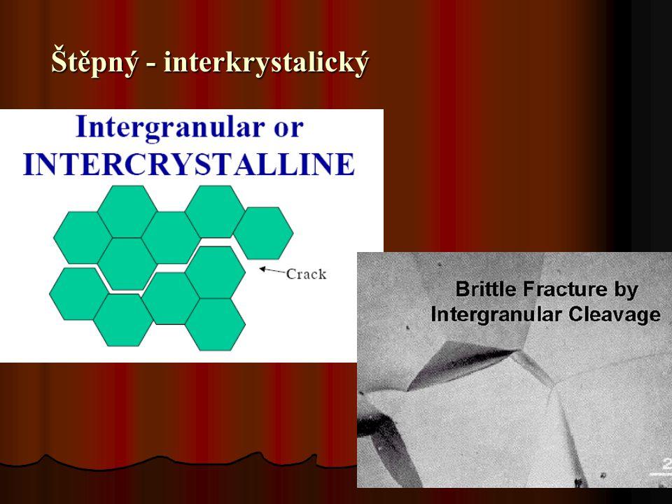 14 Štěpný - interkrystalický