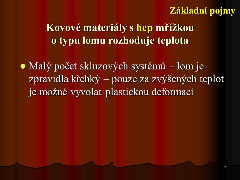 18 1 mm 10  m Štěpný - transkrystalický