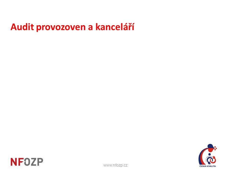 Audit provozoven a kanceláří www.nfozp.cz