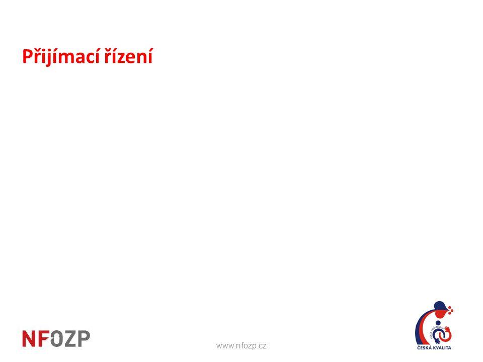 Přijímací řízení www.nfozp.cz