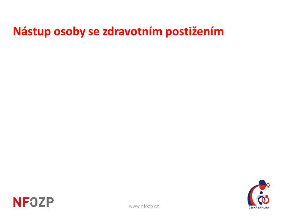 Nástup osoby se zdravotním postižením www.nfozp.cz