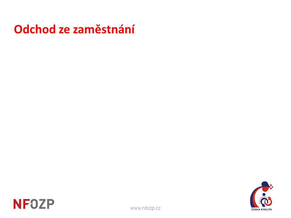 Odchod ze zaměstnání www.nfozp.cz