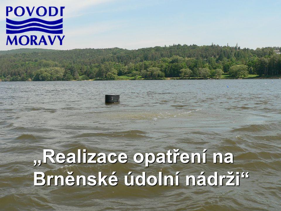 """""""Realizace opatření na Brněnské údolní nádrži"""
