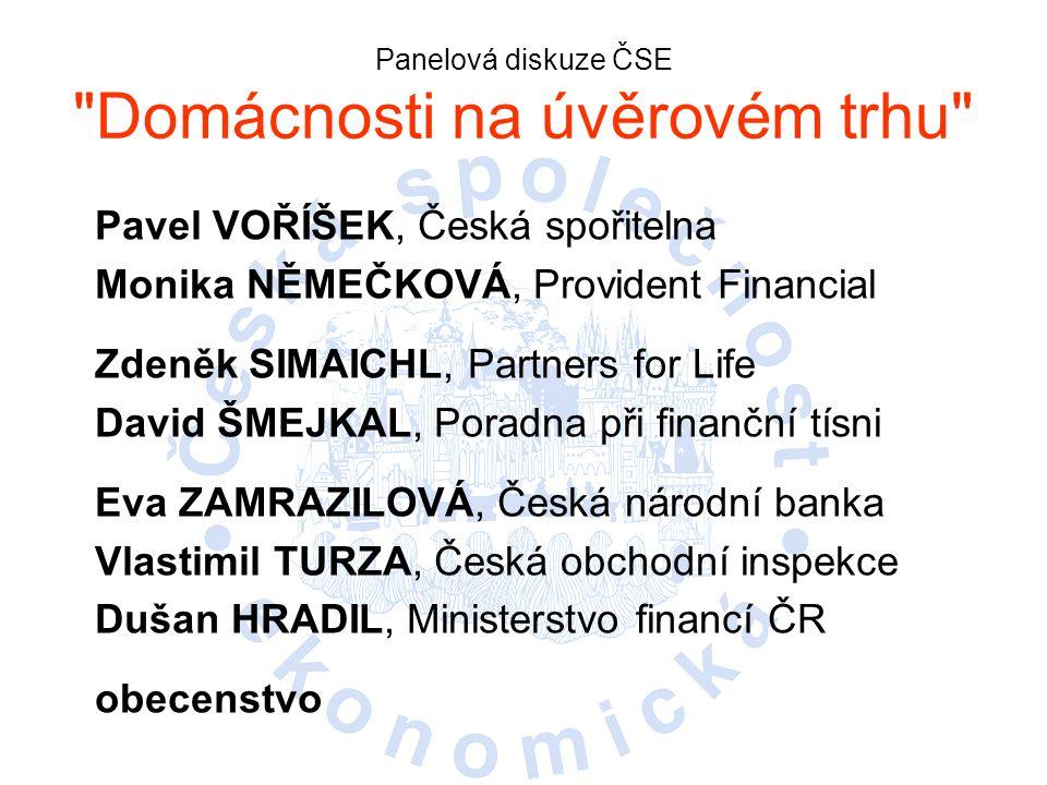 Panelová diskuze ČSE