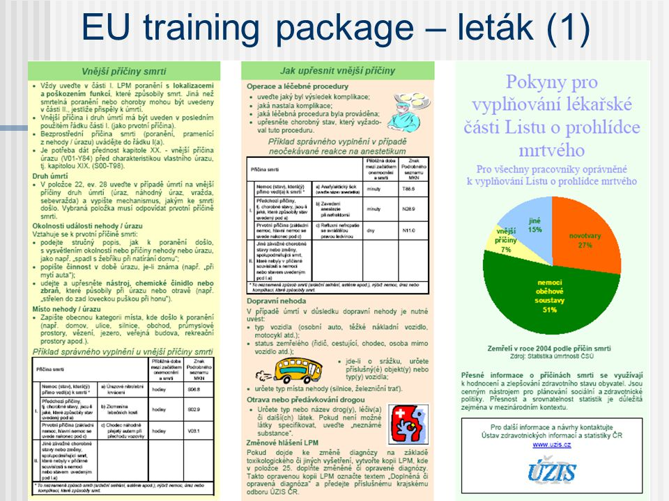 EU training package – leták (1)