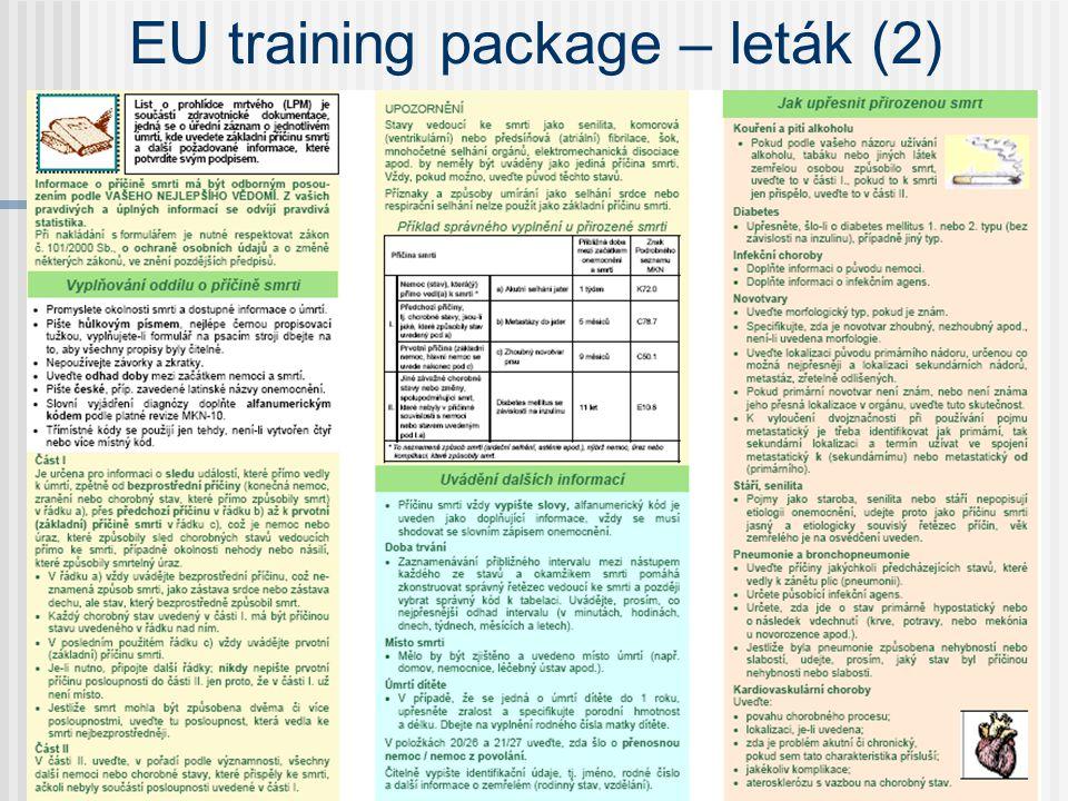 EU training package – leták (2)