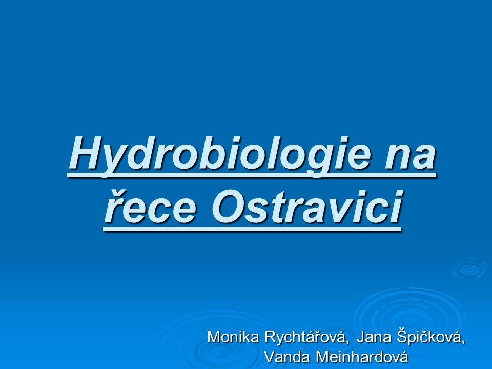 Hydrobiologie na řece Ostravici Monika Rychtářová, Jana Špičková, Vanda Meinhardová
