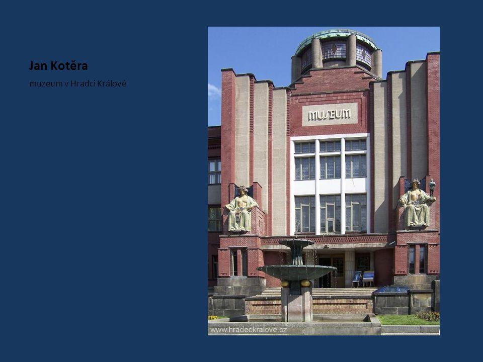 Jan Kotěra muzeum v Hradci Králové