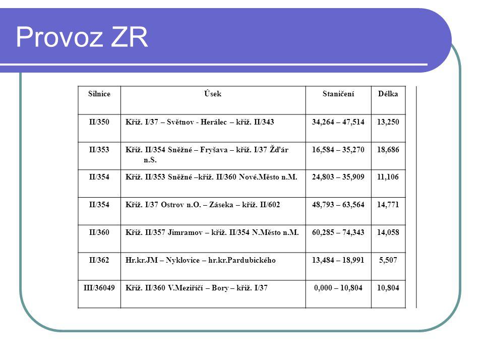 Provoz ZR  I/37 – Světnov - Herálec – křiž. II/343