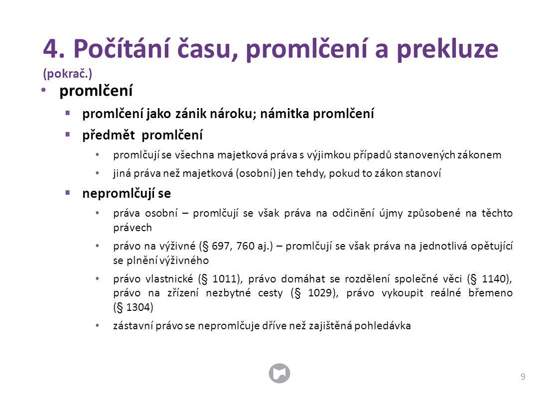 29.Ochrana práv třetích osob 50 • úprava: § 731 an.