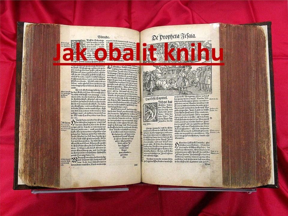 Jak obalit knihu