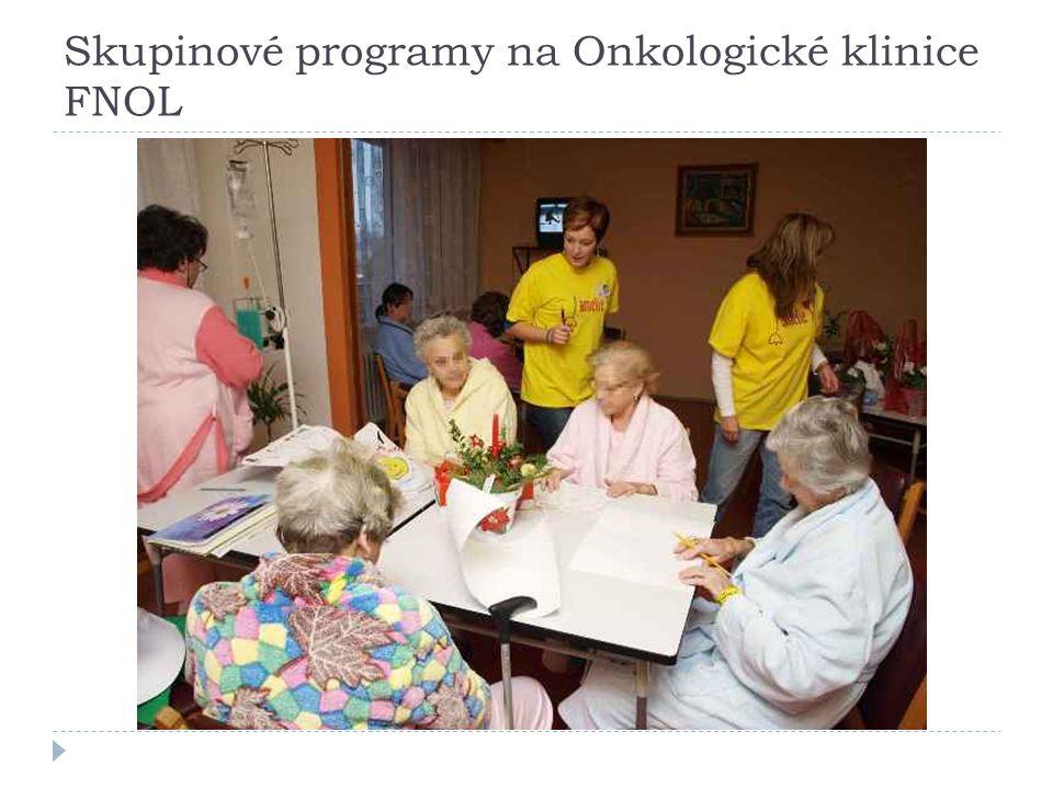 Skupinové programy na Onkologické klinice FNOL