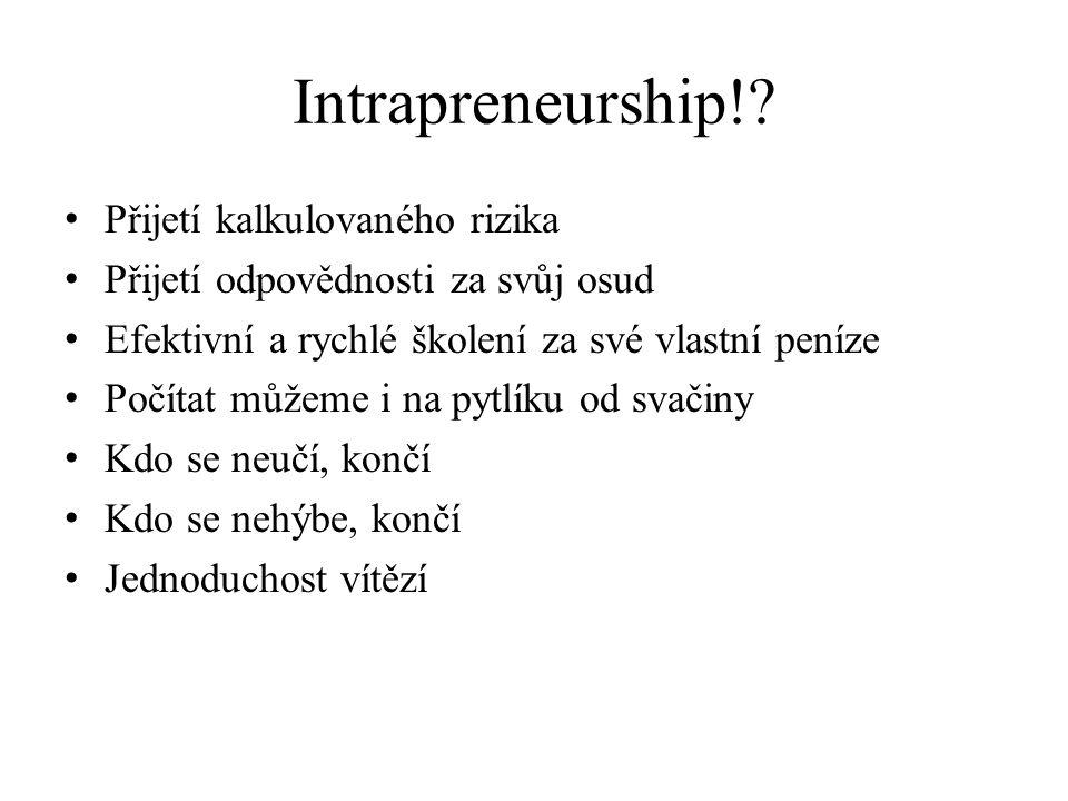 Intrapreneurship!.