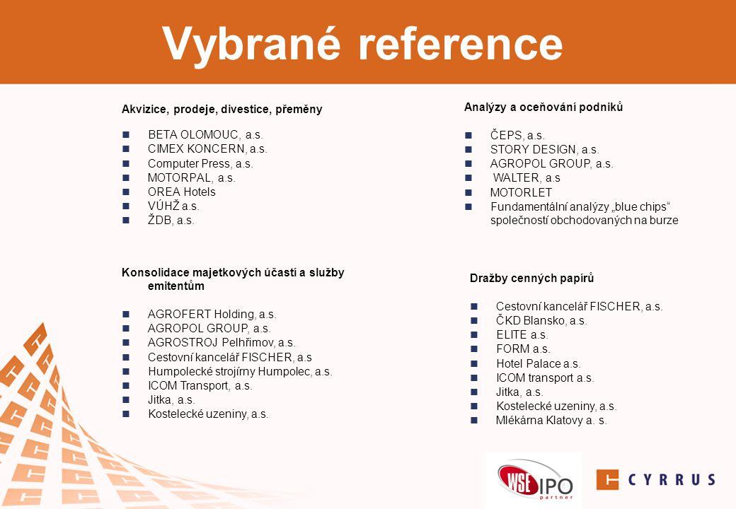 NewConnect  trh cenných papírů organizovaný varšavskou burzou  určený malým a středním podnikům k navýšení kapitálu či prodeji firmy  CYRRUS je autorizovaným IPO partnerem varšavské burzy  na NC vstoupilo již více než 100 společností společně s CYRRUSem - Photon Energy, BGS Energy plus