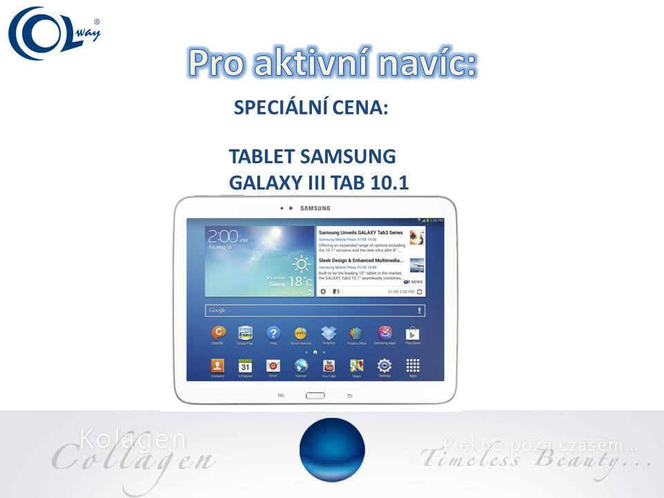 SPECIÁLNÍ CENA: TABLET SAMSUNG GALAXY III TAB 10.1