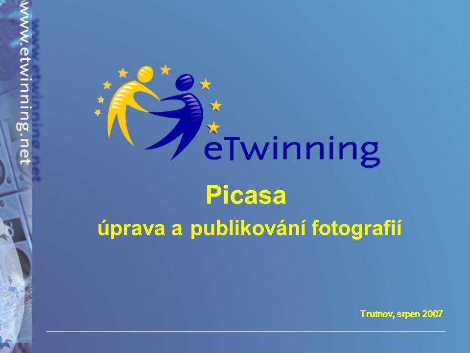 Trutnov, srpen 2007 Picasa úprava a publikování fotografií