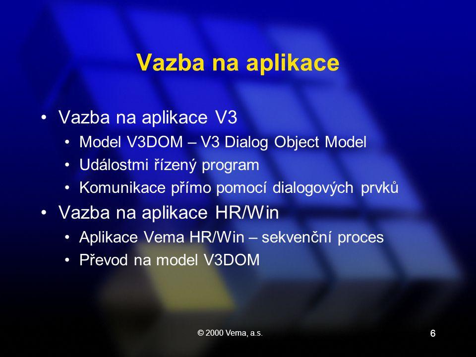 © 2000 Vema, a.s.