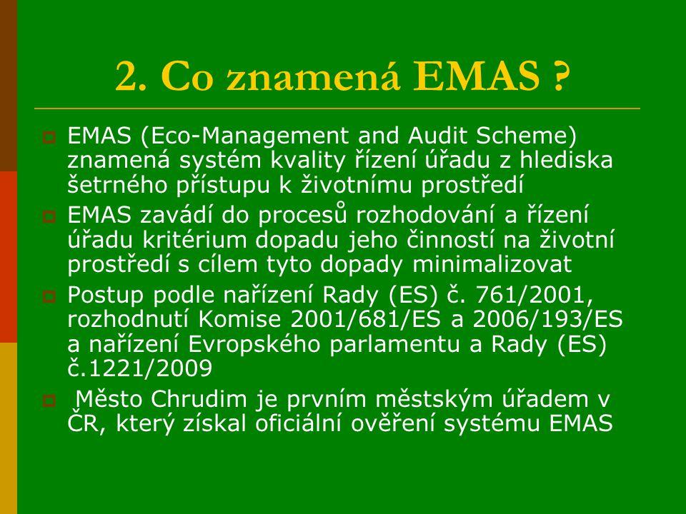 2. Co znamená EMAS .