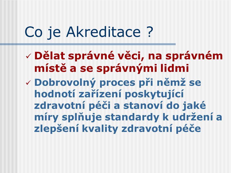 Co je Akreditace .
