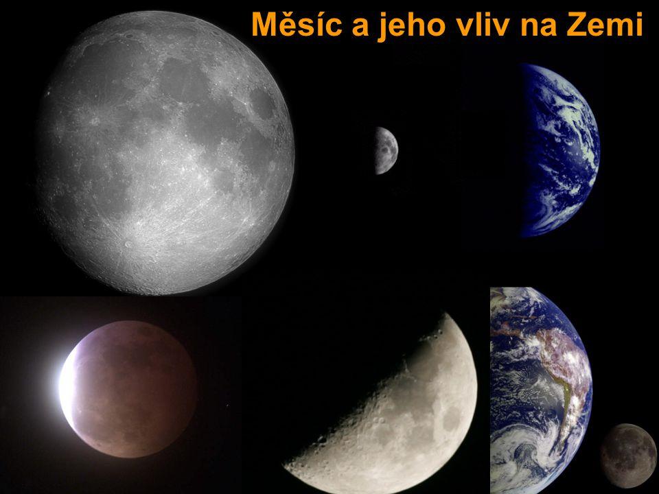 Měsíc-obecně MMěsíc je jedinou známou přirozenou družicí Země.