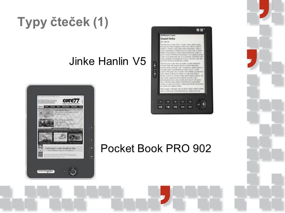 Typy čteček (1) Jinke Hanlin V5 Pocket Book PRO 902
