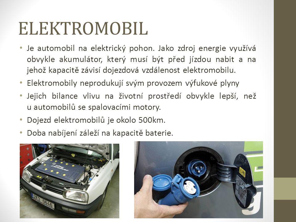 Alternativní paliva • LPG - Jedná se zřejmě o nejrozšířenější alternativní palivo v ČR. Motor v dobrém technickém stavu při provozu na LPG produkuje z