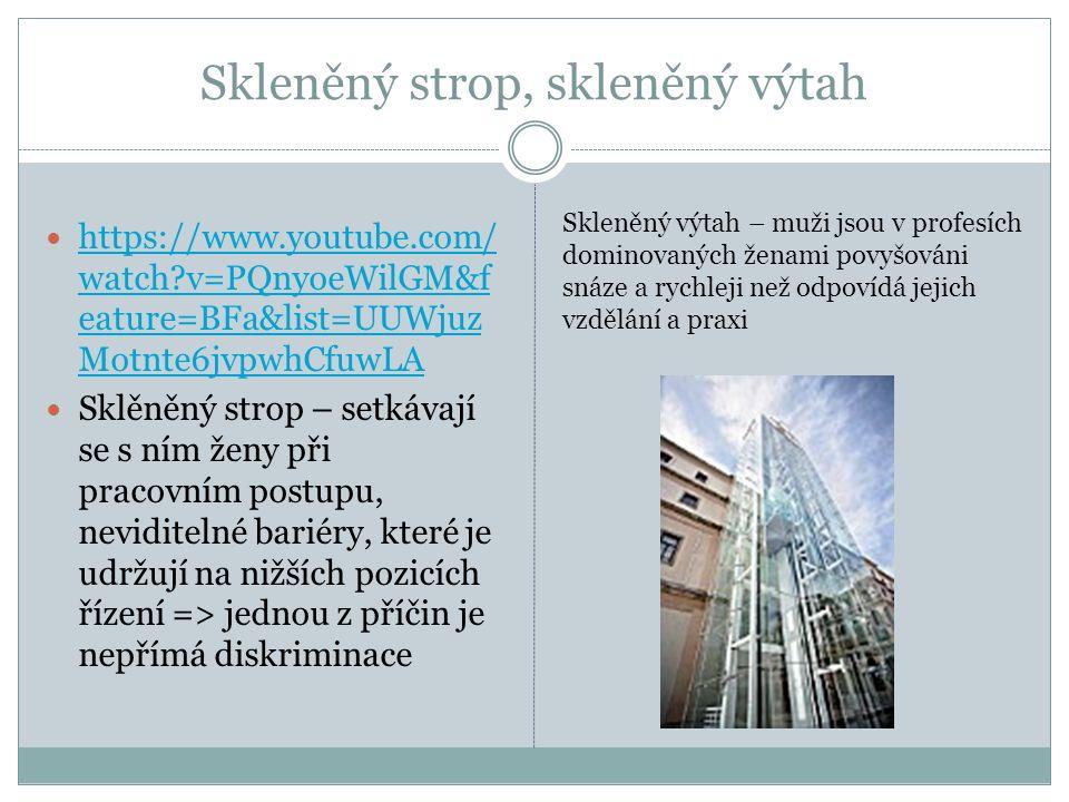 Skleněný strop, skleněný výtah  https://www.youtube.com/ watch?v=PQnyoeWilGM&f eature=BFa&list=UUWjuz Motnte6jvpwhCfuwLA https://www.youtube.com/ wat