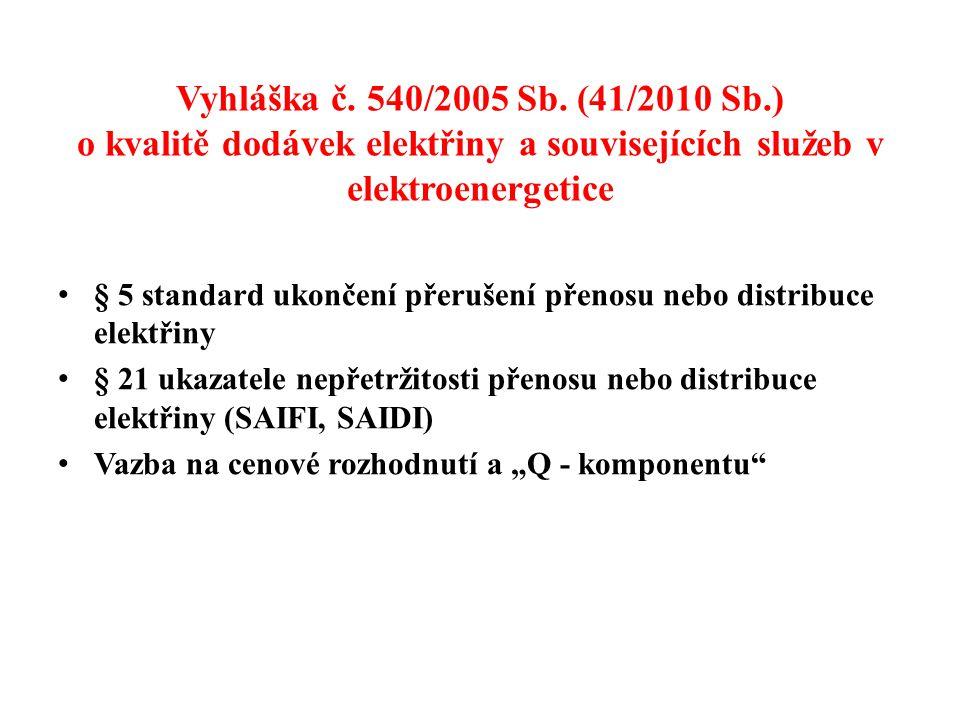 Vyhláška č.540/2005 Sb.