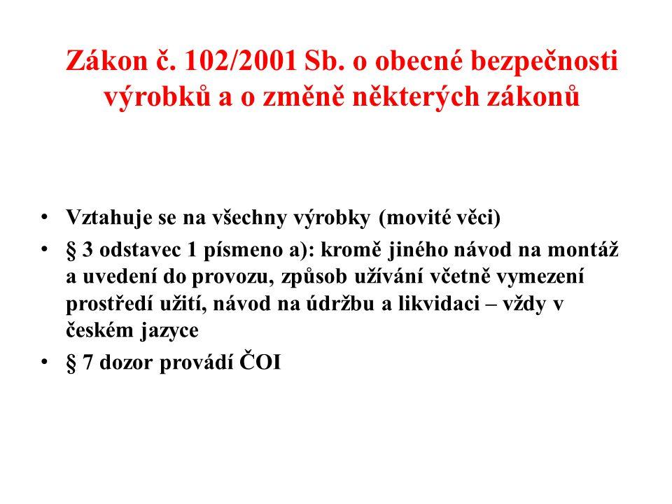 Zákon č.102/2001 Sb.