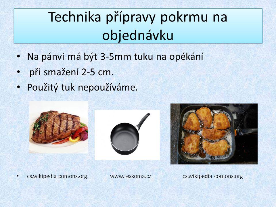 Použité zdroje Technologie příprava pokrmů II.