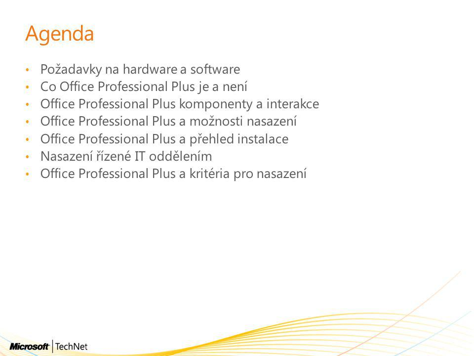 Office Professional Plus: upgrade matice UpdateXP / O2007 XP / O2010 Vista / O2007 Vista / O2010 Win7 / O2007 Win7 / O2010 Windows XP SP3 XX Vista SP2 XX RPC over HTTP (KB974841 – XP) (KB2458828 for Windows Vista) XXXX Security update KB960818 – June 2009 & new Office 2010 update) X Office 2007 SP2 XXX Security Update for Office 2007 (KB972652 – Nov 2009) XXX Office Update KB980210 XX Outlook hosting update for Office 2007 XXX Outlook hosting update for Office 2010 XXX Office Update KB2435954 X Authentication components (Microsoft Online Services Sign in Assistant) XXXXXX